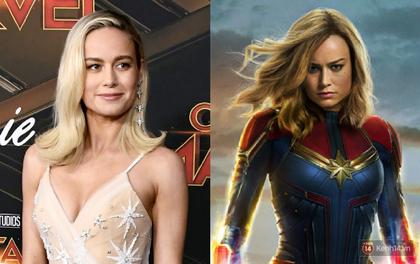 """Rộ tin """"Captain Marvel"""" Brie Larson sẽ là nữ siêu anh hùng đầu tiên xuất hiện ở cả hai vũ trụ DC và Marvel?"""