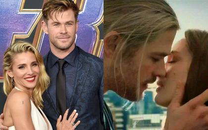 """Rộ tin vợ """"Thor"""" Chris Hemsworth lo sợ chồng ngoại tình với Natalie Portman vì nụ hôn, còn gọi đến nhà dằn mặt"""