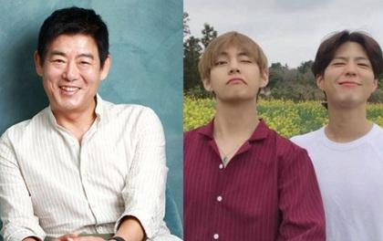 """""""Ông bố quốc dân"""" của Reply 1994 hé lộ tình bạn bất ngờ với nam thần V (BTS) - Park Bo Gum: Tất cả bắt nguồn từ 1 cô bé!"""