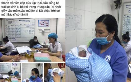 Sự thật bất ngờ vụ bé sơ sinh bị nhét giấy vào mũi, miệng và bỏ rơi trong nhà vệ sinh: Do nền nhà ướt và lạnh nên đặt con vào thùng rác để đi tìm quần áo ủ ấm