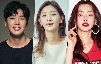 """Park So Dam rủ rê chị đẹp Honey Lee và """"trùm chăn dắt"""" Kim Dong Hee chơi trò đấu tố ghê rợn ở phim mới"""