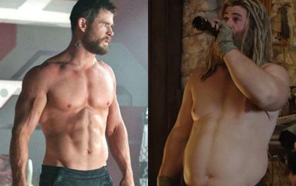 """Trai đẹp Thần Sấm """"đánh tan mỡ bụng"""" núng nính ngày nào, quay trở lại phim trường Thor với body nhìn là mê, tại sao vậy?"""