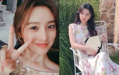 """""""Nữ thần Hậu Duệ Mặt Trời"""" Kim Ji Won """"xả"""" ảnh cũ, camera chất lượng thấp nhưng visual chất lượng vẫn cao ngút trời!"""