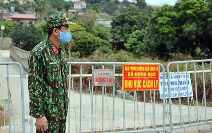 Cách ly một xã ở huyện Kim Thành sau khi có thêm ca mắc COVID-19 mới
