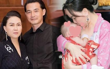 """Không thể biết con gái của Phượng Chanel và Quách Ngọc Ngoan bao nhiêu tuổi khi cả bố lẫn mẹ đều """"ông nói gà bà nói vịt"""" thế này"""