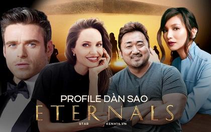 Dàn sao bom tấn Marvel hot nhất năm Eternals: Angelina Jolie so kè vợ tỷ phú về độ giàu, 2 tài tử Game Of Thrones và Ma Dong Seok đối lập