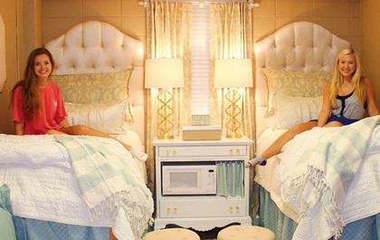 Phòng ký túc xá sang trọng như khách sạn của hai nữ sinh Mỹ