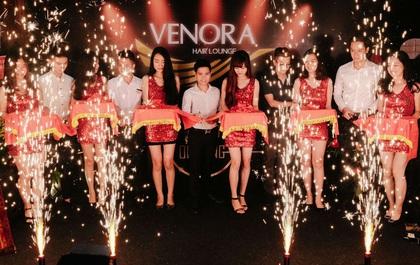 Tưng bừng khai trương cơ sở mới của Venora Hair Lounge