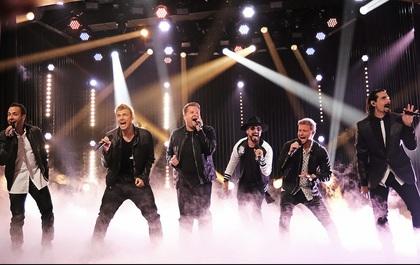 Backstreet Boys trở lại với sân khấu vũ đạo