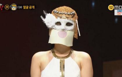 Thành viên girlgroup đình đám gây bất ngờ khi lột mặt nạ trên show hát giấu mặt