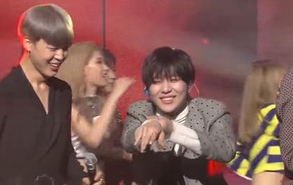 Mất cúp vào tay BTS, SHINee còn nhảy hit của đối thủ để ăn mừng