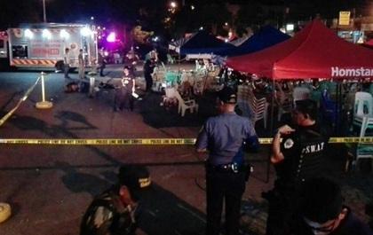 Nổ chợ đêm ở Philippines, ít nhất 10 người chết
