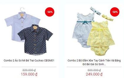 Thứ 2 vui vẻ: Deal tốt hàng tuần dành cho bé giảm tới 50% tại Tiki.vn