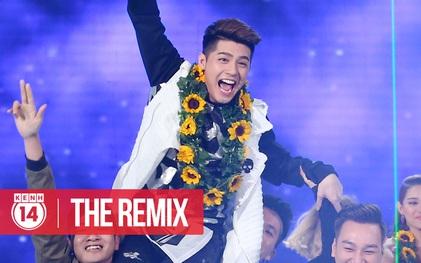 """Team Noo Phước Thịnh giành Quán quân """"The Remix"""" mùa 2"""
