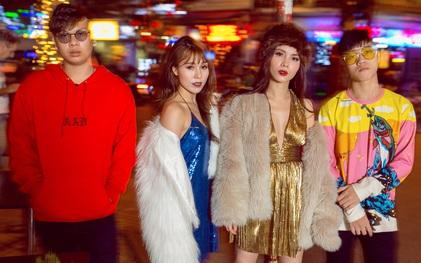 """Team Yến Trang tung bộ ảnh streetstyle cực chất trước đêm thi """"The Remix"""""""