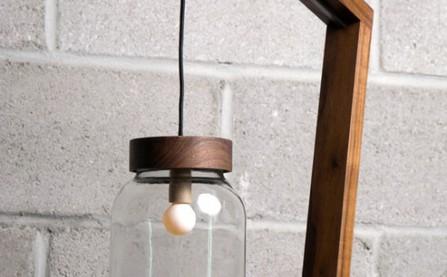 Cây đèn kiêm chậu cây cảnh mang cả thiên nhiên vào nhà bạn