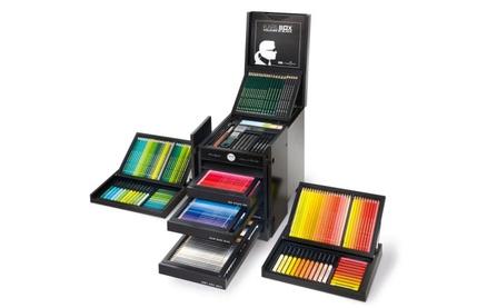 """Tìm hiểu xem có gì bên trong hộp bút chì màu """"sang chảnh"""" giá 66 triệu đồng?"""