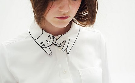 10 gợi ý cổ áo sơ mi độc - đẹp - lạ dành cho các bạn nữ