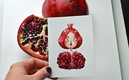 Khi 11 trái cây được hóa phép biến hình thành con người