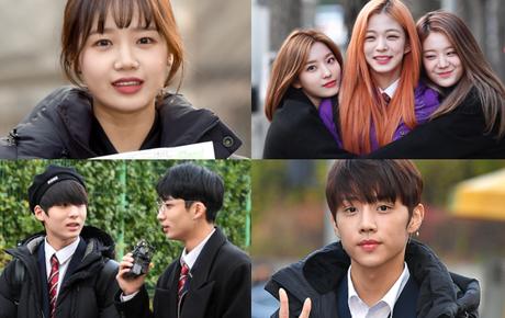 Dàn idol Hàn đình đám đi thi đại học: Mặc đồng phục đẹp như hoa, được báo chí phỏng vấn, chụp hình như dự sự kiện