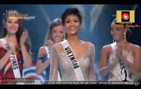 Trực tiếp chung kết Miss Universe 2018: H'Hen Niê chính thức được xướng tên vào Top 5 chung cuộc