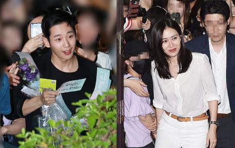 """Tiệc mừng công phim """"Chị đẹp"""": Jung Hae In bị biển fan vây kín, Son Ye Jin đẹp bất chấp giữa dàn sao"""