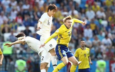 """TRỰC TIẾP (H1) Thụy Điển 0-0 Hàn Quốc: Xứng danh """"Niềm tự hào châu Á"""""""