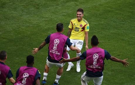 TRỰC TIẾP (H2) Colombia 1-1 Nhật Bản: Quintero sút phạt tinh quái gỡ hòa