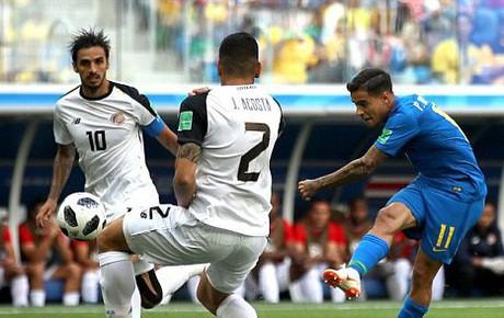 TRỰC TIẾP (H1) Brazil 0-0 Costa Rica: Brazil hút chết sau pha phản công