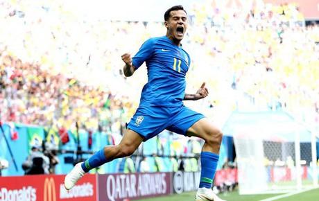Coutinho nổ súng phút bù giờ, fan Brazil vỡ oà với chiến thắng muộn nhưng đầy quan trọng