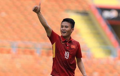 TRỰC TIẾP (H1) Olympic Việt Nam 1-0 Olympic Pakistan: Quang Hải mở tỷ số