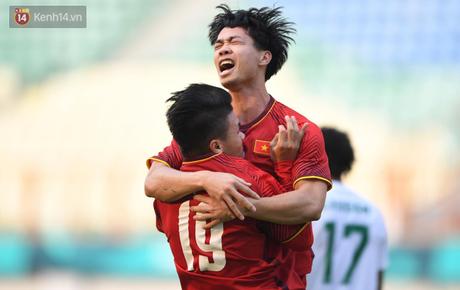 Quang Hải, Công Phượng lập công, Olympic Việt Nam thắng dễ ngày ra quân ASIAD 2018