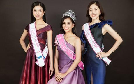 """Ngắm cận vẻ đẹp của Top 3 Hoa hậu Việt Nam 2018: Mỹ nhân 2000 được khen sắc sảo, 2 nàng Á """"mười phân vẹn mười"""""""