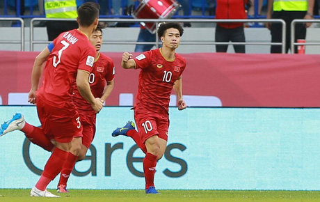 [Trực tiếp Asian Cup 2019] Việt Nam 1-1 Jordan (HP1): Thế trận căng như dây đàn