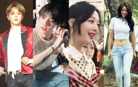 Nhan sắc đời thực của idol Hàn qua ống kính chụp vội: Ai cũng như búp bê sống, riêng Sulli đúng là huyền thoại