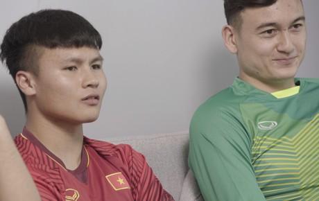 Quang Hải - Văn Lâm: Những sự đối lập đáng yêu