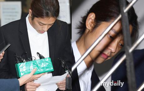 Jung Joon Young trình diện thẩm vấn trước khi bị bắt: Bật khóc nhận tội nhưng lại là cảnh cầm giấy xin lỗi quen thuộc