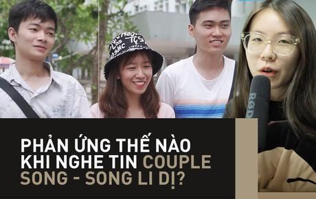 """Dân tình nói gì khi Song - Song """"đứt gánh"""": Năm 2019 rồi mà còn tin vào ngôn tình thì... chết"""