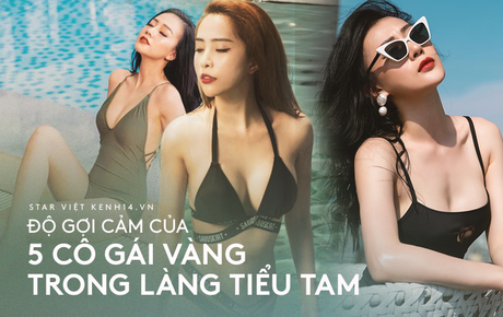 So kè 5 cô gái hội Tuesday màn ảnh Việt: Nóng bỏng từ phim đến đời thực, có người còn bị chê phản cảm vì khoe thân quá đà!