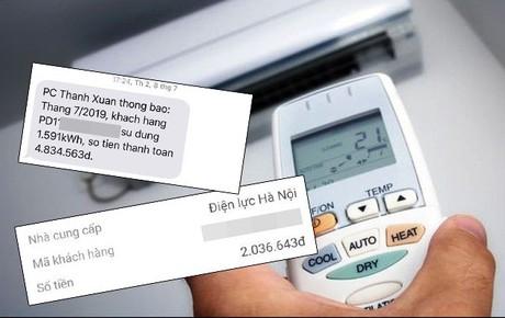 """Người dân Hà Nội kêu trời vì hóa đơn điện tăng """"chóng mặt"""" sau những ngày nắng nóng: Công ty điện lực lý giải nguyên nhân"""