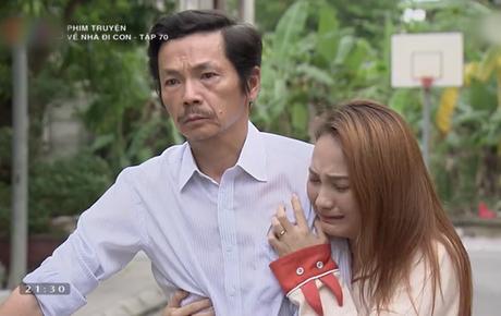 """Review tập 70: Cảnh bố Sơn sang nhà chồng Thư nghẹn ngào nói """"Về nhà đi con"""" lấy đi biết bao nước mắt khán giả"""