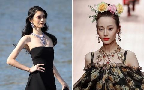 Địch Lệ Nhiệt Ba và Ming Xi: một bên mỹ nhân không góc chết, một bên người mẫu Victoria's Secret nhưng đều khô quắt héo hon trên sàn catwalk