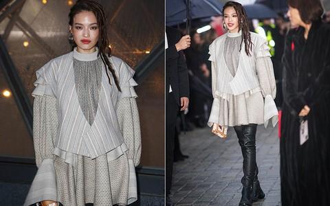 Show Louis Vuitton thiếu vắng Phạm Băng Băng, Thư Kỳ thành mỹ nhân Cbiz khiến dân tình trầm trồ vì style lạ