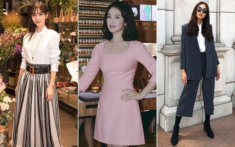 Cùng là đại mỹ nhân nhưng Song Hye Kyo, Angela Baby và Hà Tăng đều có nhược điểm khó giấu