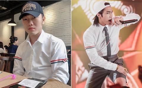 Xuân Trường tiết lộ mua sơmi trắng giá vài trăm nhưng thật ra lại là đụng hàng áo hiệu với Sơn Tùng M-TP, Ngô Diệc Phàm, G-Dragon