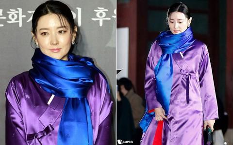 Lee Young Ae đẹp không góc chết, không hổ danh Nữ thần Hanbok khi diện màu áo mà ít người dám mặc