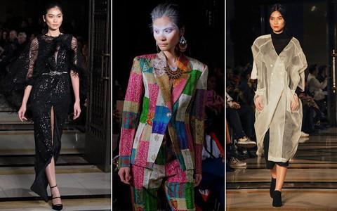 Tẩm ngẩm tầm ngầm là thế mà Kim Dung Next Top đã trúng đến 4 show tại London Fashion Week