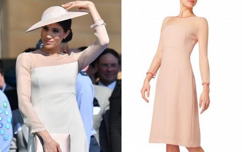 Hiệu ứng Meghan Markle lại khiến cho chiếc váy mà cô mặc bán hết sạch chỉ sau vài giờ