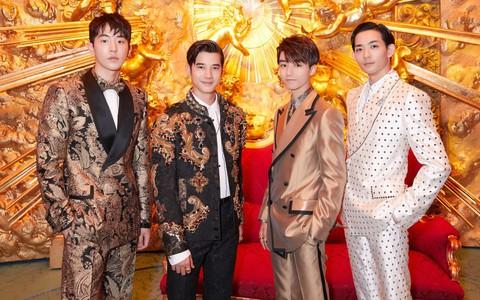 Nam Joo Hyuk, Vương Tuấn Khải, Mario Maurer, Ryo Ryuse đích thị là F4 mới của châu Á tại show Dolce & Gabbana