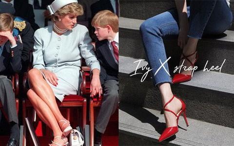 4 mẫu giày cao gót được Công nương Diana lăng xê từ 20 năm trước, đến nay vẫn hot bất chấp mọi thời đại